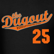 Design ~ LicenseToPills #25 (Barry Bonds) Giants Dugout T