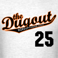 Design ~ LicenseToPills #25 (Barry Bonds) Giants Dugout T (Ash)