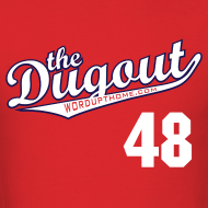 Design ~ ToriiMisspelling #48 (Torii Hunter) Angels Dugout T