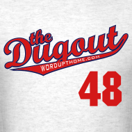 Design ~ ToriiMisspelling #48 (Torii Hunter) Angels Dugout T (Ash)