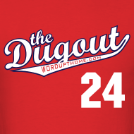 Design ~ HarenMySoup #24 (Dan Haren) Angels Dugout T