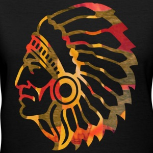 NATIVE AMERICAN INDIAN Women's T-Shirts - Women's V-Neck T-Shirt