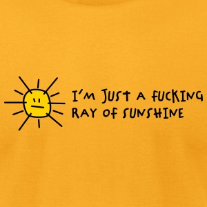 Fucking Ray Of Sunshine (2c) T-Shirts - Men's T-Shirt by American Apparel