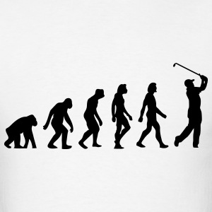 Evolution Golf (1c) T-Shirts - Men's T-Shirt