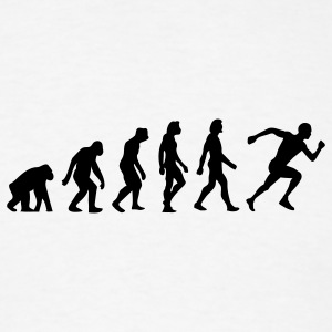 Evolution Running (1c) T-Shirts - Men's T-Shirt
