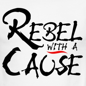 Rebel with a Cause - Men's Ringer T-Shirt