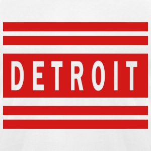 Detroit Original T-Shirts - Men's T-Shirt by American Apparel