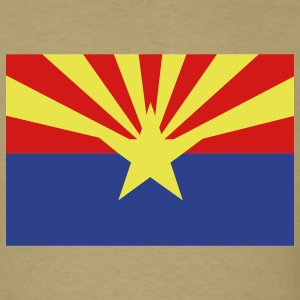 Arizona State Flag T-Shirts - Men's T-Shirt