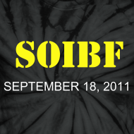 Design ~ Official SOIBF 2011 Classic-cut tie dye t-shirt for both men and women
