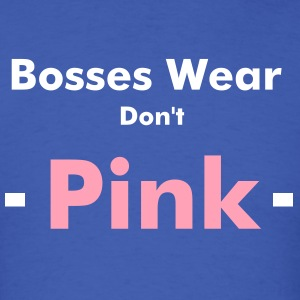 Boss Pink Tee - Men's T-Shirt