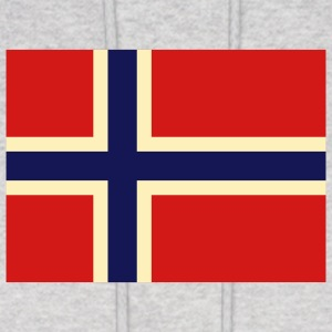 Flag Norway 2 (3c) Hoodies - Men's Hoodie