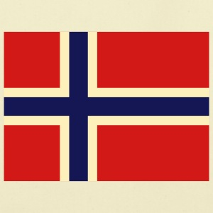 Flag Norway 2 (3c) Bags  - Eco-Friendly Cotton Tote