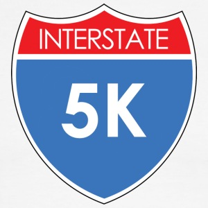 Interstate 5K T-Shirts - Men's Ringer T-Shirt