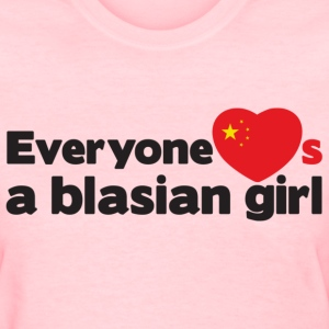 Blasian Girl (China) Women's T-Shirts - Women's T-Shirt