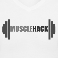 Design ~ Women's V-Neck MuscleHack T-Shirt