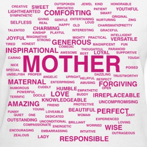 Words About Mother - Women's T-Shirt