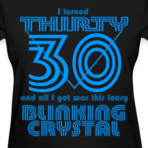 I Turned 30 and all I got was this Blinking Crystal