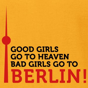 Bad Girls Go To Berlin (2c) T-Shirts - Men's T-Shirt by American Apparel