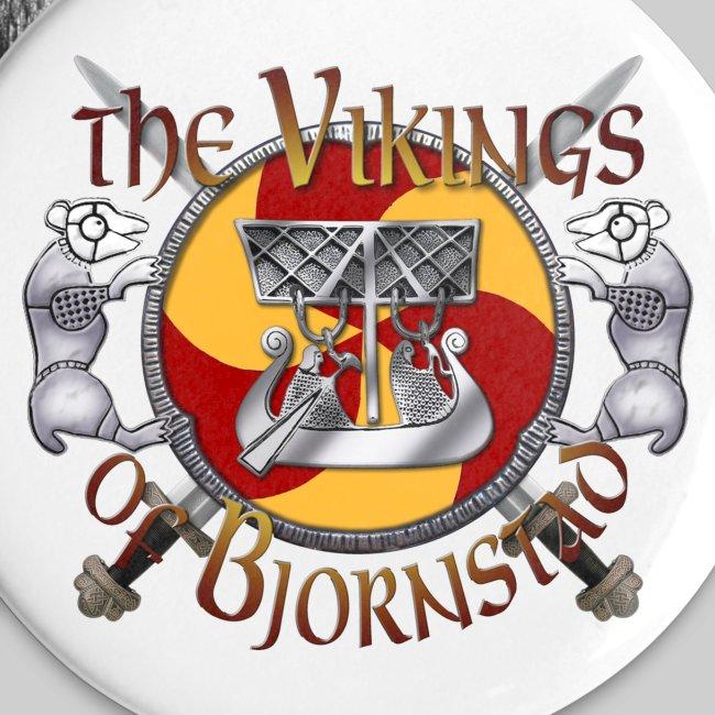 Large Vikings of Bjornstad Campaign Button
