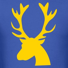 stag head reindeer T-Shirts