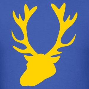 stag head 1 T-Shirts - Men's T-Shirt