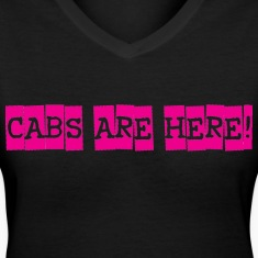 cabs are here Women's T-Shirts