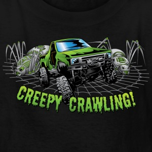 Creepy Truck Crawling Kids' Shirts - Kids' T-Shirt
