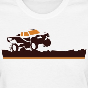Race Truck Mud Run Women's T-Shirts - Women's T-Shirt