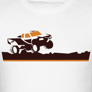 Race Truck Mud Run T-Shirts - Men's T-Shirt