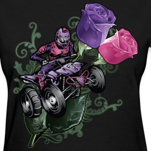 Flower Powered Quad Women's T-Shirts - Women's T-Shirt