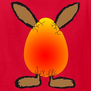 easter bunny in egg rabbit bunnies hare cony leveret bimbo Kids' Shirts - Kids' T-Shirt