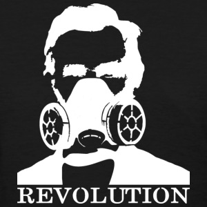 Revolution - Abe & Gas Mask - Women's T-Shirt