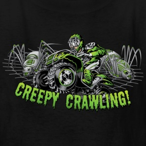 Creepy Crawling ATV Kids' Shirts - Kids' T-Shirt
