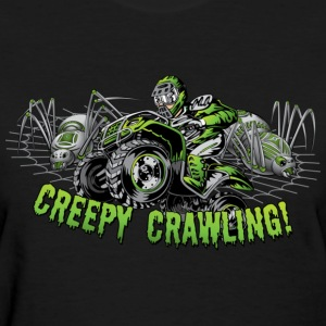 Creepy Crawling ATV Women's T-Shirts - Women's T-Shirt