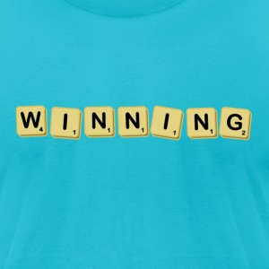 Winning! - Men's T-Shirt by American Apparel