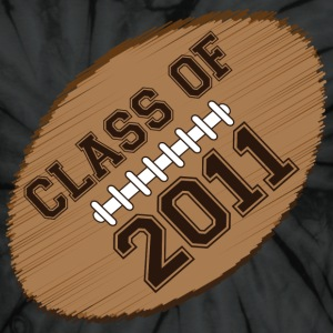 class of 2011 football T-Shirts - Unisex Tie Dye T-Shirt
