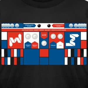 Controlpanel 4 T-Shirts - Men's T-Shirt by American Apparel