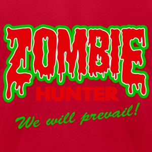 Zombie Hunter Assassin T-Shirts - Men's T-Shirt by American Apparel