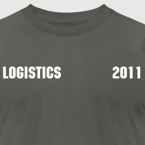 Logistics 2011 Men's T - Men's T-Shirt by American Apparel