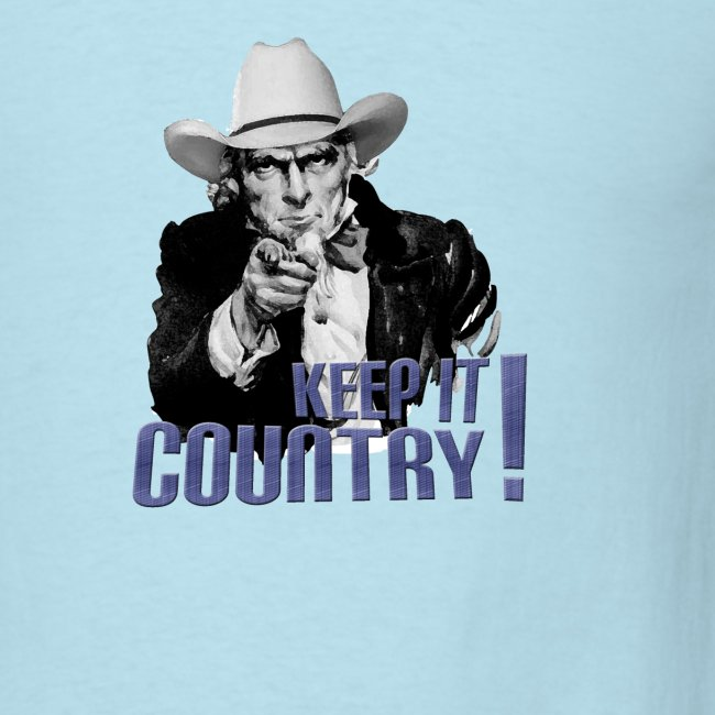 Keep It Country Uncle Sam Denim Font #2