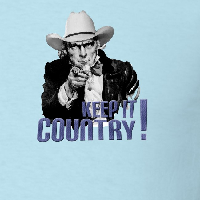 Keep It Country Uncle Sam Denim Font #1