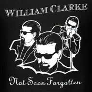 Design ~ William Clarke Not Forgotten t-shirt