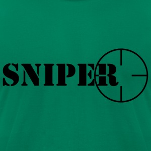 Sniper symbol T-Shirts - Men's T-Shirt by American Apparel