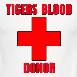 Tigers Blood Donor Charlie Sheen T-Shirts - Men's Ringer T-Shirt