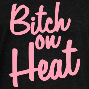 bitch on heat Long Sleeve Shirts - Women's Wideneck Sweatshirt