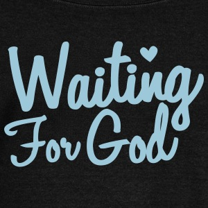waiting for god Long Sleeve Shirts - Women's Wideneck Sweatshirt