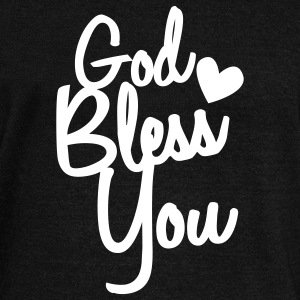 god bless you Long Sleeve Shirts - Women's Wideneck Sweatshirt