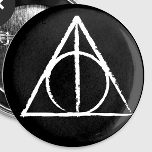 Sign of the Deathly Hallows Pin - Small Buttons