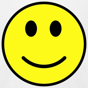 Smiley face - Men's T-Shirt by American Apparel