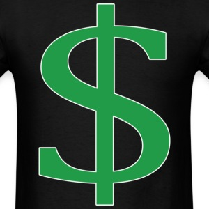 dollar sign T-Shirts - Men's T-Shirt